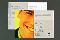 General Corporate Business Postcard Template