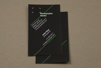 Photography Studio Business Card Template