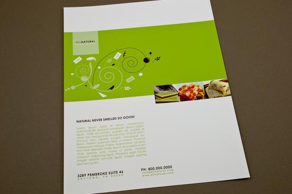 soap store flyer template inkd