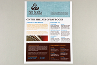 Independent Bookstore Flyer Template