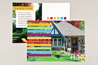 Landscape Design Postcard Template