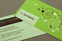 Soap Store Business Card Template