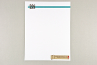 Friendly Dog Walking Letterhead Template