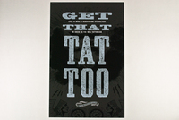 Vintage Type Tattoo Shop Flyer Template