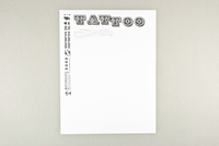 Retro Tattoo Shop Letterhead Template