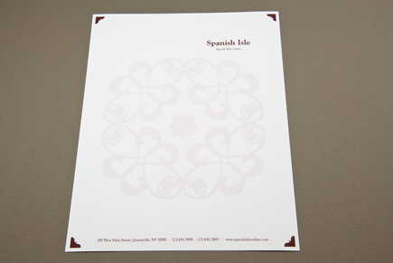 restaurant letterhead templates free - spanish restaurant letterhead template inkd