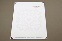 Spanish Restaurant Letterhead Template