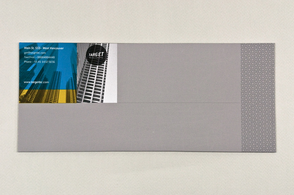 blue and yellow business envelope template inkd