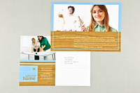 Home Repair Postcard Template