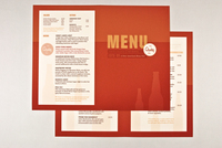 Brewery & Pub Menu Template