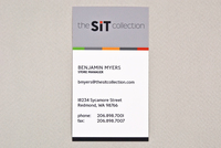 Modern Furniture Business Card Template
