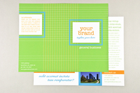 Stitched Grid Brochure Template