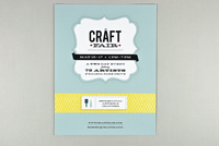 Retro Craft Fair Flyer Template