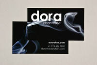 Dynamic Smoke Business Card Template
