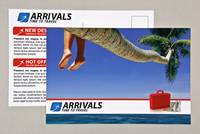 Sophisticated Travel Agency Postcard Template
