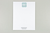 Retro Craft Fair Letterhead Template