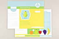 Bright Nutritionist Brochure Template