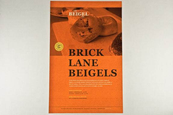 Classic Bagel Bakery Flyer Template Inkd