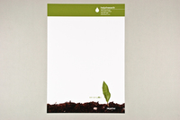 Help the Earth Letterhead Template