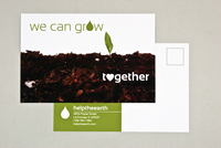 Help the Earth Postcard Template