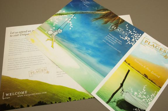 Tourism Brochure Template  Inkd