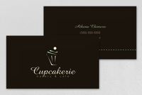 Cupcakerie Business Card Template