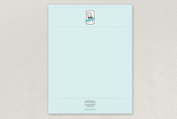 Mint Vintage Furniture Store Letterhead Template