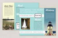 Nautical Bed and Breakfast Brochure Template