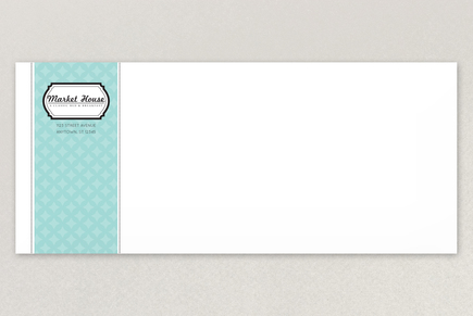 Nautical Bed and Breakfast Envelope Template