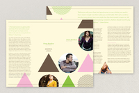 Trendy Boutique Brochure Template