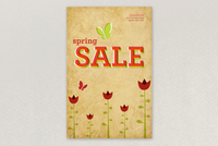 Spring Sale Flyer Template