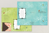 Paper Craft Store Brochure Template