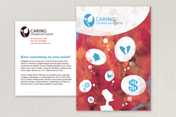 Counseling Postcard Template Inkd