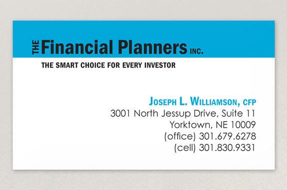 The financial planners business card template inkd the financial planners business card template colourmoves