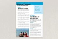 The Financial Planners Datasheet Template