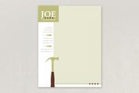 Joe Handyman Letterhead Template