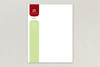 Stylish Florist Letterhead Template