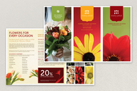 Stylish Florist Brochure Template