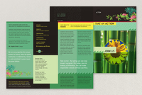 Bright Environmental Non-Profit Brochure Template