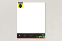 Bright Environmental Non-Profit Letterhead Template