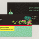 Bright Environmental Non-Profit Business Card Template