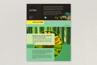 Bright Environmental Non-Profit Flyer Template