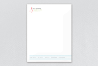 Edgy & Sleek Sports Company Letterhead Template