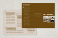 Education and Tutoring Brochure Template