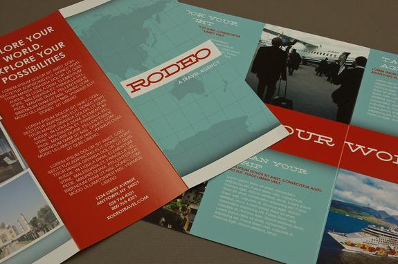 Travel Agency Brochure Template Inkd