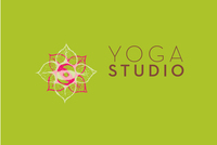 Contemporary Yoga Logo Template