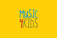 Music And Children Logo Template