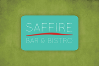 Trendy Bistro & Bar Logo Template