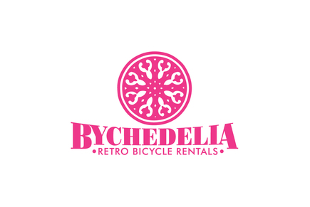 Retro Bike Rental Shop Logo Template