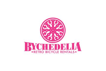 Bicycle Shop Logo Retro Bike Rental Shop Logo